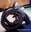 Tasbih 108 Red Garnet