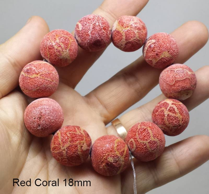 Red Coral 18mm Kode 2